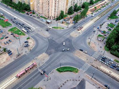 Система интеллектуального управления дорожным движением